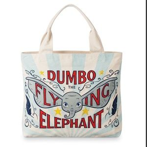 New Disney Dumbo The Flying Elephant Canvas Tote